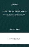 Congo-Essentiel-droit-minier-2015-couverture